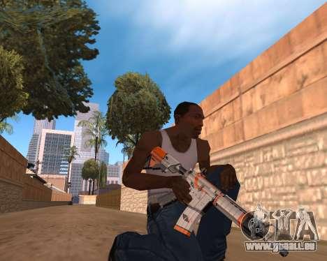 CS:GO Weapon pack Asiimov pour GTA San Andreas troisième écran