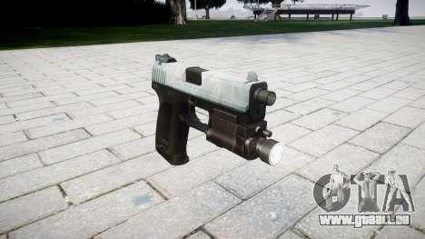 Pistolet HK USP 45 glacial pour GTA 4