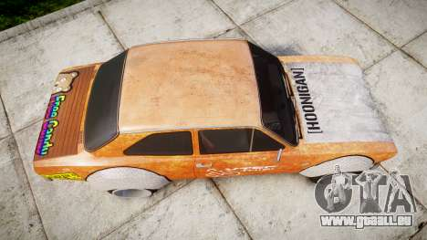 Ford Escort Mk1 Rust Rod v2.0 pour GTA 4 est un droit
