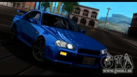 Forza Silber ENB für Mittel-PC für GTA San Andreas fünften Screenshot