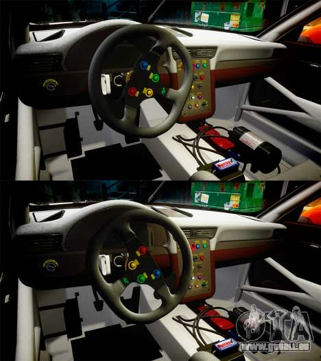 RUF RGT-8 GT3 [RIV] Project CARS pour GTA 4 vue de dessus