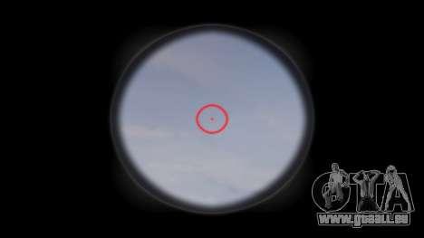 Die HK416 Gewehr Taktische Ziel für GTA 4 dritte Screenshot
