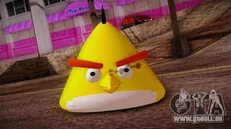 Yellow Bird from Angry Birds pour GTA San Andreas troisième écran