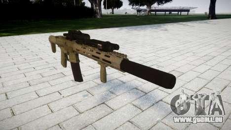 Fusil d'assaut AAC ratel [Remake] pour GTA 4