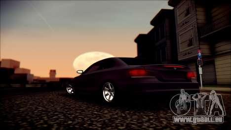 BMW 135i für GTA San Andreas Motor