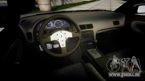 Nissan 240SX SE S13 1993 Sharpie für GTA 4 Seitenansicht
