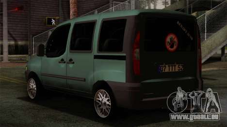 Fiat Doblo 2005 für GTA San Andreas linke Ansicht