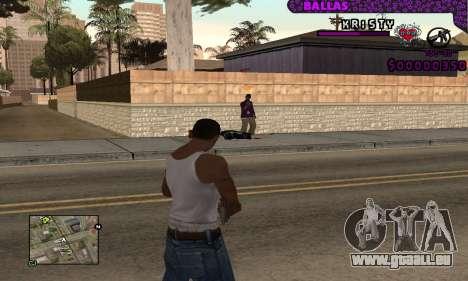 Ballas C-HUD pour GTA San Andreas