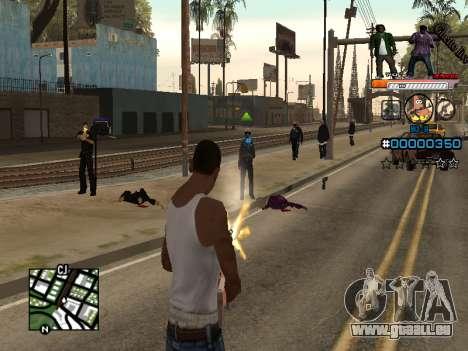 C-HUD Ghetto Live für GTA San Andreas