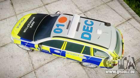 BMW 525d F11 2014 Police [ELS] für GTA 4 rechte Ansicht