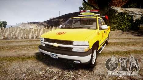 Chevrolet Silverado Lifeguard Beach [ELS] für GTA 4
