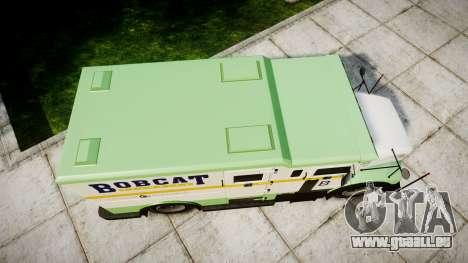 GTA V Brute Securicar für GTA 4 rechte Ansicht