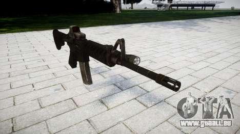 Tactique M4, fusil d'assaut Black Edition pour GTA 4