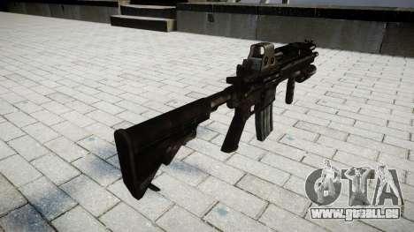 Die HK416 Taktische Waffe für GTA 4 Sekunden Bildschirm