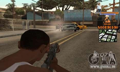 C-HUD by Fernando Delgado pour GTA San Andreas