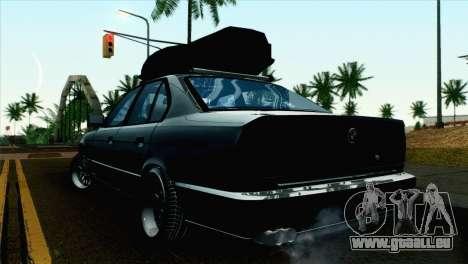 BMW M5 E34 für GTA San Andreas linke Ansicht