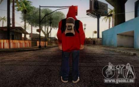 Ginos Ped 6 pour GTA San Andreas deuxième écran
