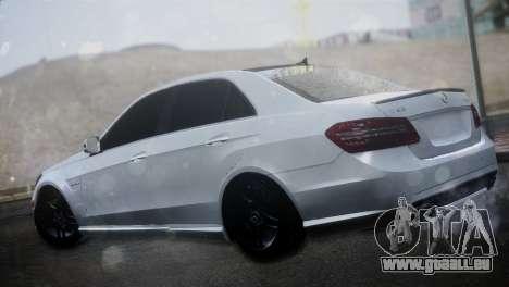 Mercedes-Benz E63 pour GTA San Andreas laissé vue