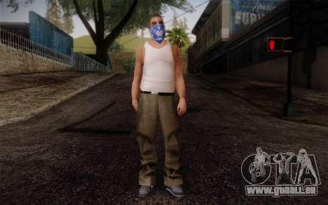 New Fam Skin 2 für GTA San Andreas