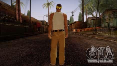 Fresno Buldogs 14 Skin 2 pour GTA San Andreas deuxième écran