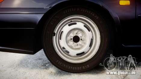 VAZ-2114 für GTA 4 Rückansicht