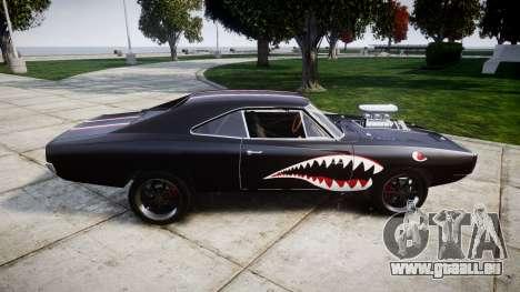 Dodge Charger RT 1970 Shark pour GTA 4 est une gauche