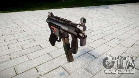 Pistolet MP5K pour GTA 4