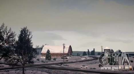 North Yankton IV pour GTA 4 cinquième écran