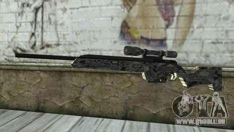 Le nouveau fusil de sniper pour GTA San Andreas