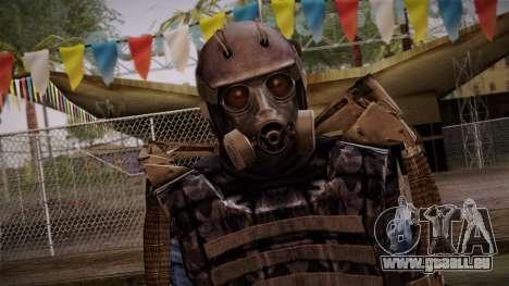 Mercenaries Exoskeleton pour GTA San Andreas troisième écran