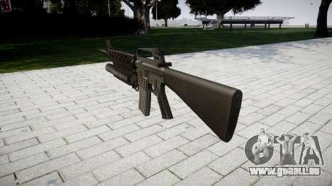 Gewehr M16A2 M203 sight3 für GTA 4 Sekunden Bildschirm