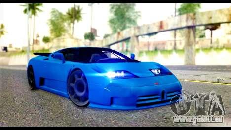 Bugatti EB110SS für GTA San Andreas