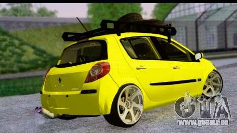 Renault Clio für GTA San Andreas linke Ansicht