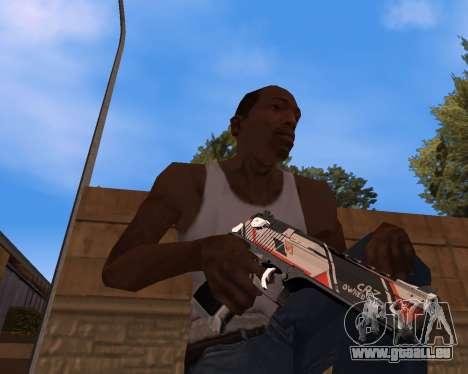 CS:GO Weapon pack Asiimov für GTA San Andreas zweiten Screenshot
