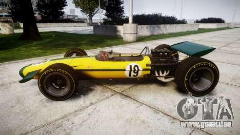 Lotus Type 49 1967 [RIV] PJ19-20 für GTA 4 linke Ansicht