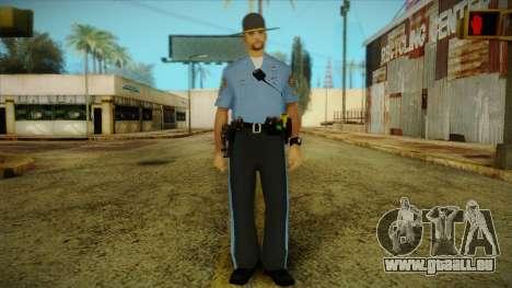 Missouri Highway Patrol Skin 2 pour GTA San Andreas