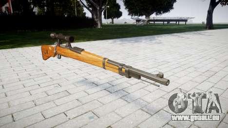 Le magazine fusil Karabiner 98k pour GTA 4