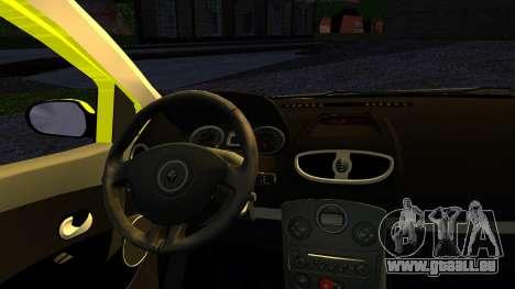 Renault Clio pour GTA San Andreas sur la vue arrière gauche