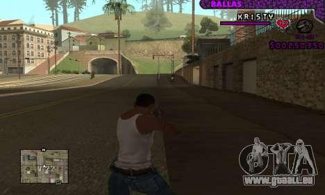 Ballas C-HUD pour GTA San Andreas deuxième écran