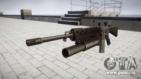 Gewehr M16A2 M203 sight2 für GTA 4
