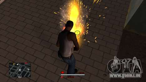 C-HUD White für GTA San Andreas dritten Screenshot