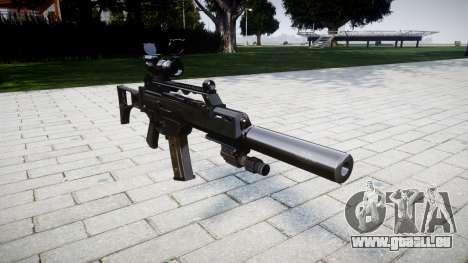 Machine Heckler & Koch G36 CV für GTA 4