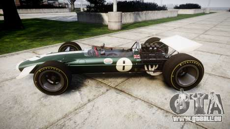 Lotus Type 49 1967 [RIV] PJ1-2 pour GTA 4 est une gauche