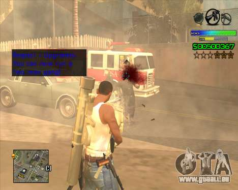 C-HUD Simple für GTA San Andreas zweiten Screenshot