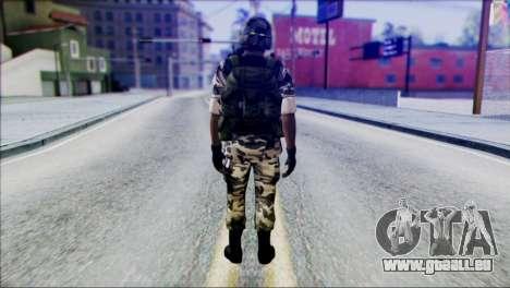 Hecu Soldier 2 from Half-Life 2 für GTA San Andreas zweiten Screenshot