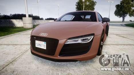 Audi R8 plus 2013 Wald rims pour GTA 4