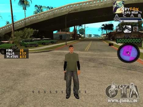 C-HUD. Avec. Et. pour GTA San Andreas