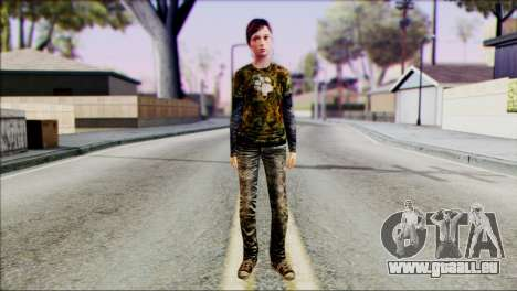 Ellie from The Last Of Us v3 für GTA San Andreas
