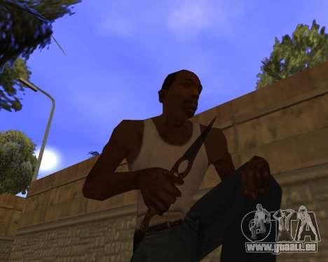 Jaguar Weapon pack pour GTA San Andreas sixième écran