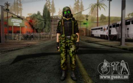 Hecu Soldier 3 from Half-Life 2 pour GTA San Andreas